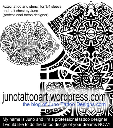 sleeve tattoos custom tattoos made to order by juno professional tattoo designer. Black Bedroom Furniture Sets. Home Design Ideas