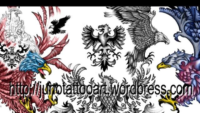 eagles tattoo- tattoos of eagles- animal tattoos