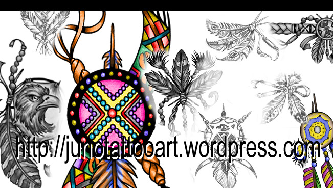 American Indian tattoos | Custom Tattoos made to order by Juno ...