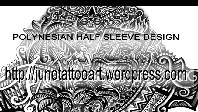 Polynesian Tiki Tattoo Designs: Custom Tattoos Made To Order By Juno