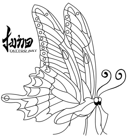 free butterfly tattoo,free tattoo stencil,stencil tattoo, butterfly tattoo,free butterfly tattoo