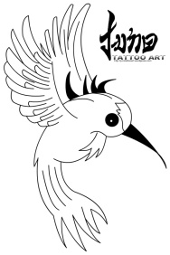 free tattoo design,free stencil tattoo,free tattoo stencil,free Humming bird tattoo