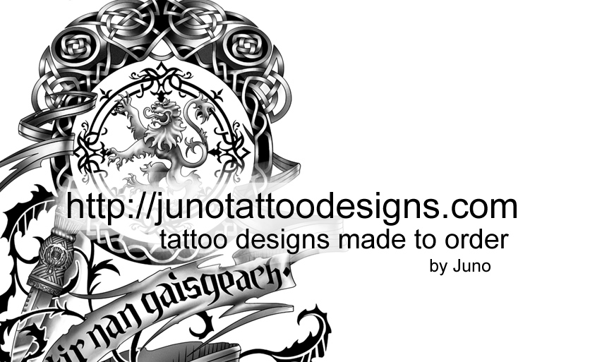 Image Result For Custom Tattoos Made To Order By Juno Professional
