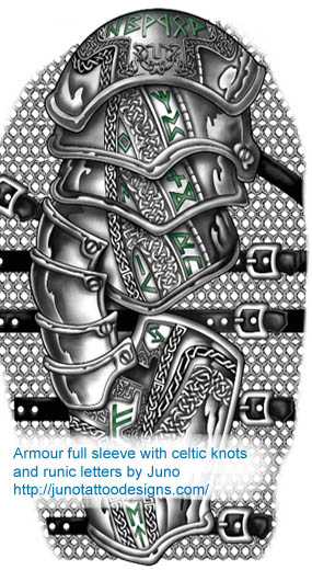 celtic scottish tattoos custom tattoos made to order by juno professional tattoo designer. Black Bedroom Furniture Sets. Home Design Ideas
