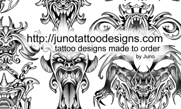 gargoyle tattoos