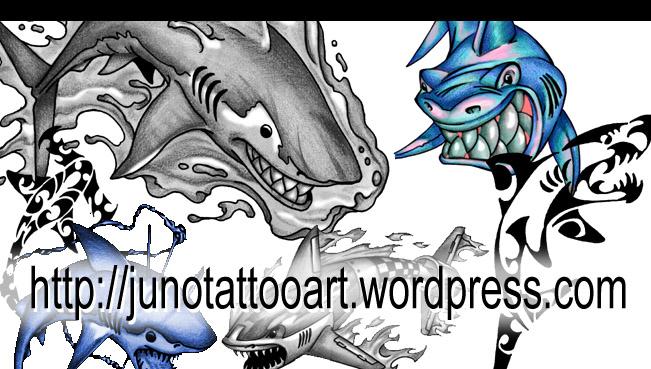 Tiger Shark Tattoos Shark Tattoos Juno Tattoo