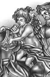 angel cherub tattoo