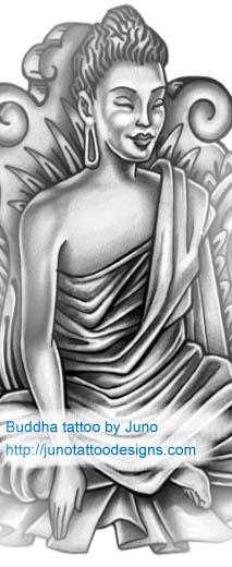 buddha tattoo