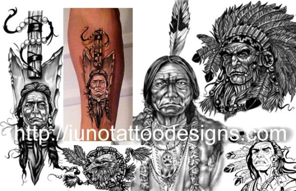 indian tattoos,indian chief tattoo,indian arrow tattoo,dream catcher tattoo,indian chief and arrow tattoo