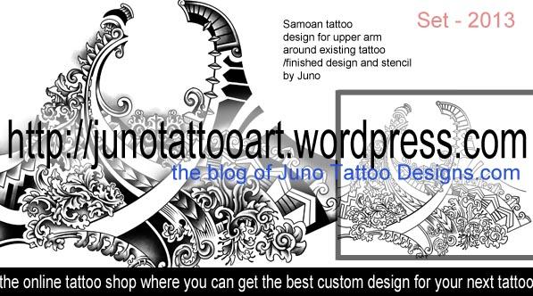 samoan polynesian tattoos juno tattoo art professional tattoo designer online. Black Bedroom Furniture Sets. Home Design Ideas