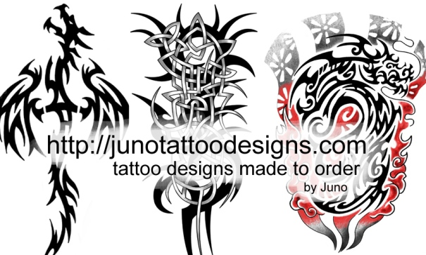 Tribal Tattoos by Juno
