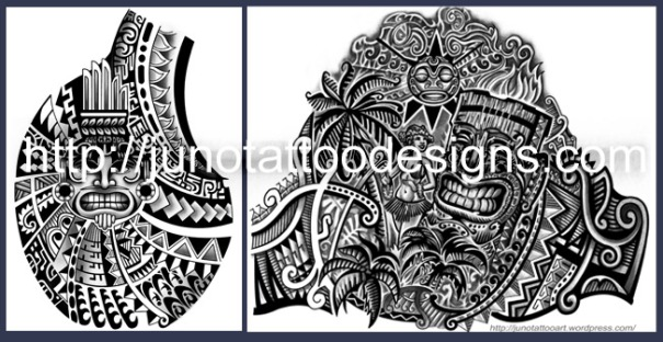 samoan tattoo,polynesian tattoo, tiki tattoos, sleeve tattoos,chest tattoo